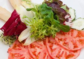 ensalada de tomate asador guetaria