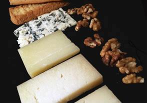 quesos de euskadi con nueces