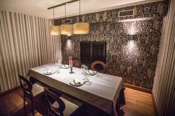Comedor privado 2 del Asador Guetaria de Bilbao