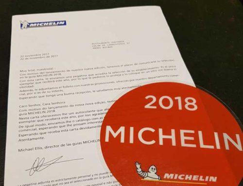 Otro año más en la Guía Michelin