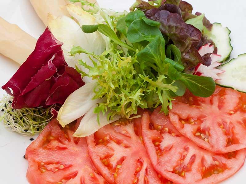 Ensalada de tomate del Asador Guetaria de Bilbao