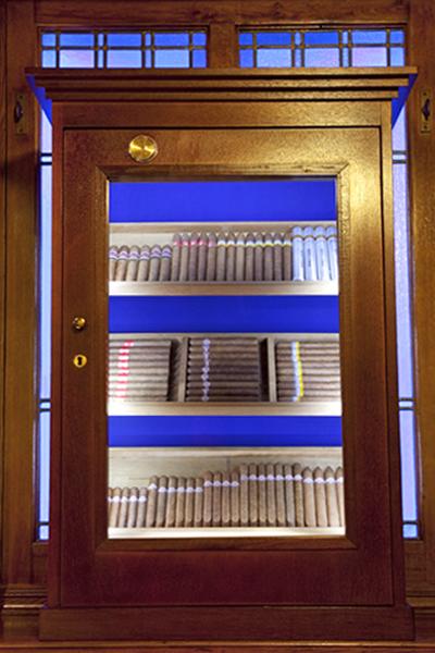 Galería de puros del Asador Getaria de Bilbao