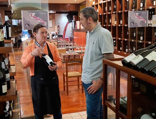 Visitamos un templo del vino en Bilbao